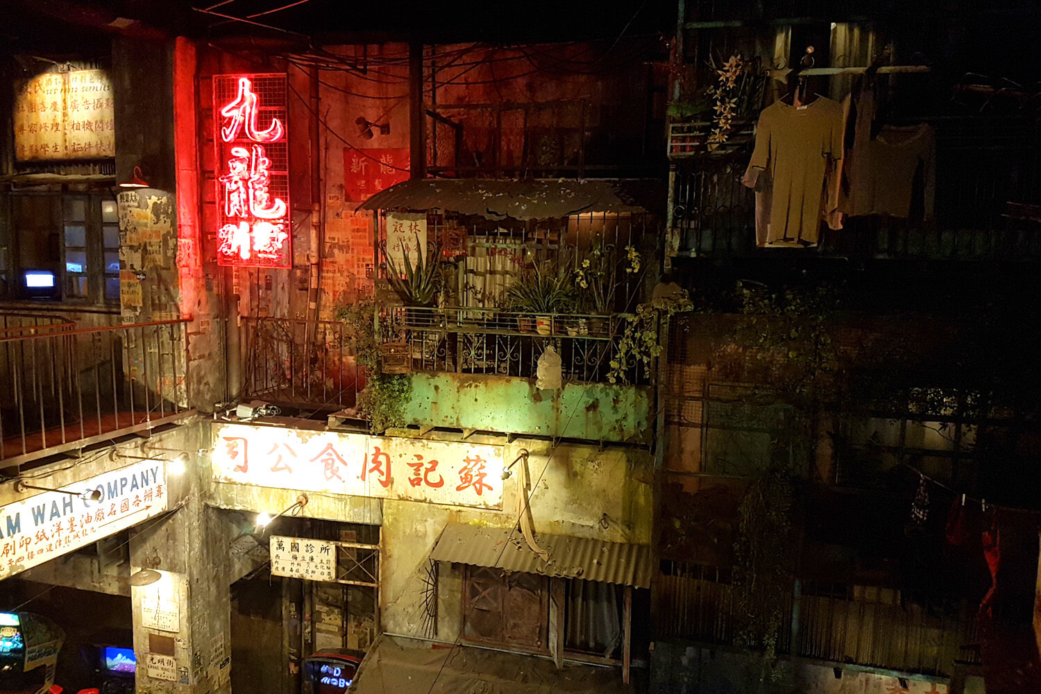 Recreated Hong Kong's Kowloon Walled City at Anata no Warehouse, Kawasaki